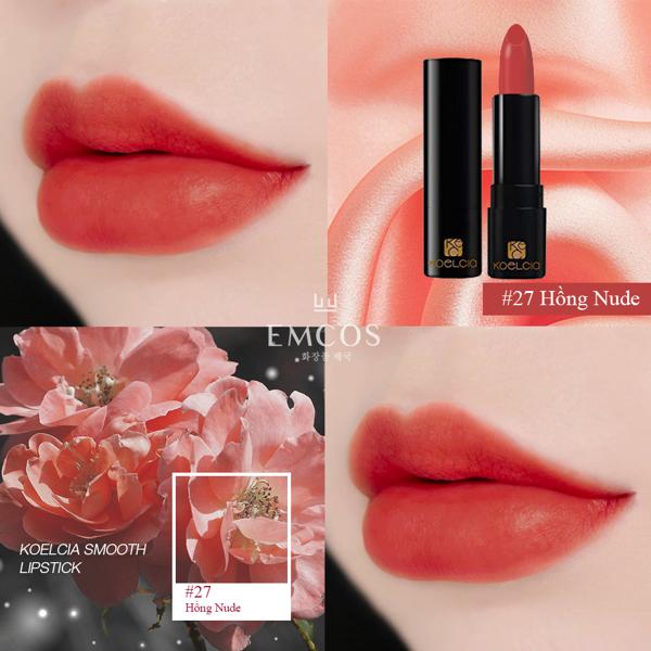 son Koelcia Smooth Lipstick, Koelcia Smooth Lipstick, son smooth matte lipstick, son smooth lipstick, smooth matte lipstick, smooth lipstick koelcia, son koelcia, son smooth, smooth lipstick, son koelcia smooth, bảng màu son koelcia, son koelcia smooth lipstick bảng màu, giá son koelcia smooth lipstick, giá son smooth matte lipstick, son koelcia smooth lipstick chính hãng giá bao nhiêu, giá son koelcia, review son smooth matte lipstick, koelcia review, son smooth matte lipstick có tốt không, đánh giá son koelcia, địa chỉ mua son koelcia chính hãng, mua son smooth matte lipstick chính hãng