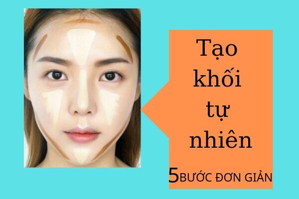 Cách trang điểm tạo khối cho khuôn mặt với 5 bước ĐƠN GIẢN!